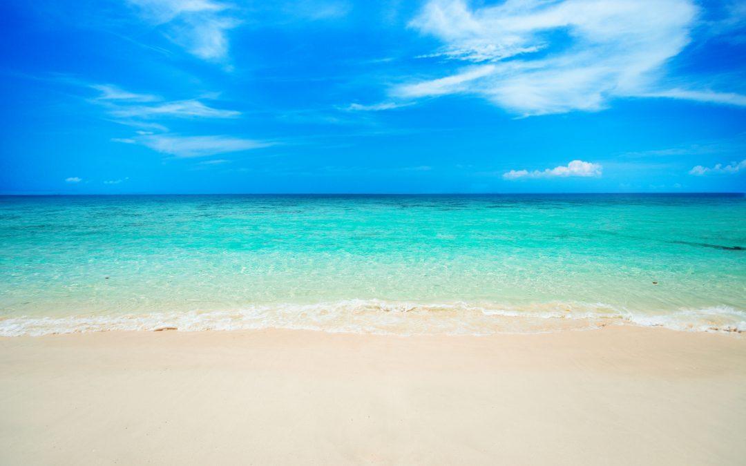 Meditación en una playa